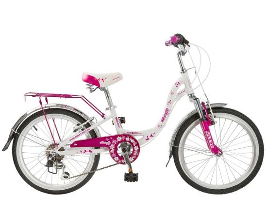 Велосипед Novatrack Butterfly 20 (на рост от 110 до 130) (2018)