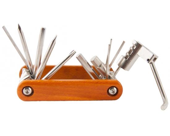 Набор инструментов Vinca Sport 11 функций, дерево
